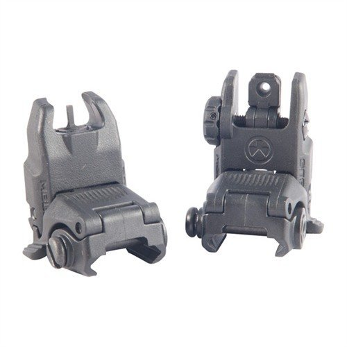 AR-15/M16 MBUS GEN 2 SIGHT SET, Black