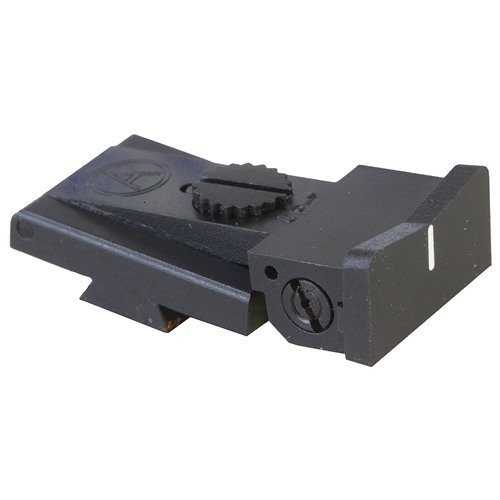 Bomar BCMS White Express Adjustable Rear Sight