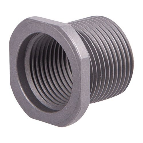 Thread Adapter 9/16-24 to 5/8-24 Stainless Steel
