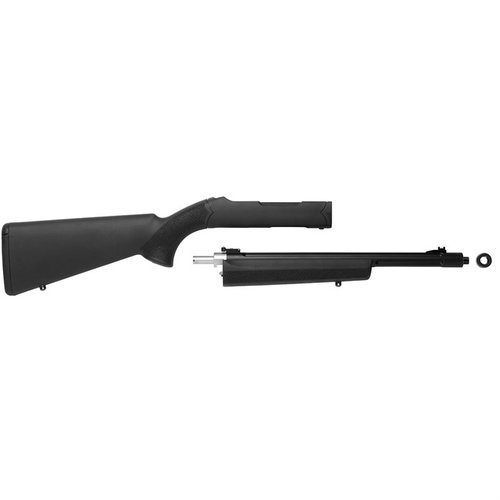 Lightweight Matte Black Barrel w/ Black Hogue Stock