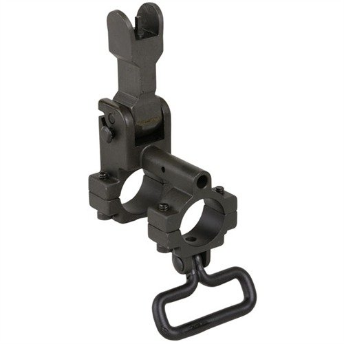 AR-15 Gas Block Front Sight no lug .750 Steel Black