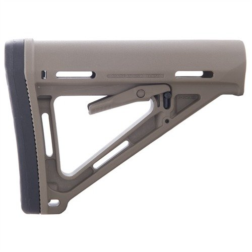 AR-15 MOE Stock Collapsible Mil-Spec FDE
