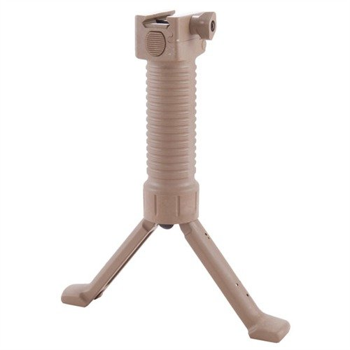 "Military Model Grip Pod Picatinny Mount 7-9"" Tan"