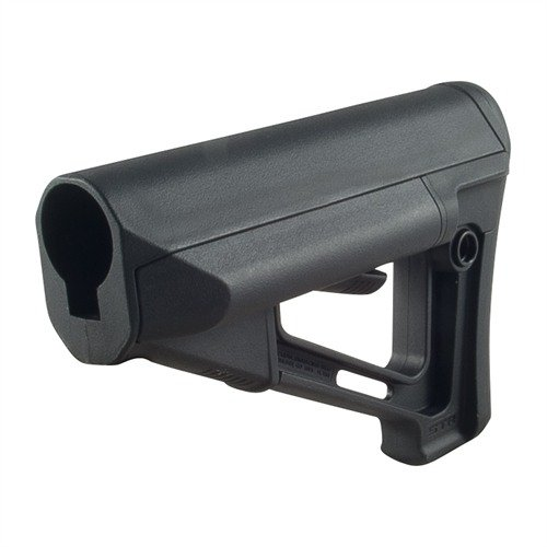 AR-15 STR Stock Collapsible Mil-Spec BLK