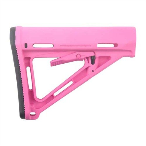 AR-15 MOE Stock Collapsible Mil-Spec Pink