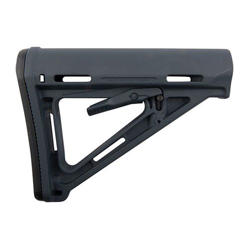 AR-15 MOE Stock Collapsible Mil-Spec Gray