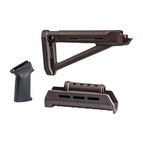 MAGPUL AK-47 POLYMER MOE Stock Set M-LOK Plum - Brownells UK