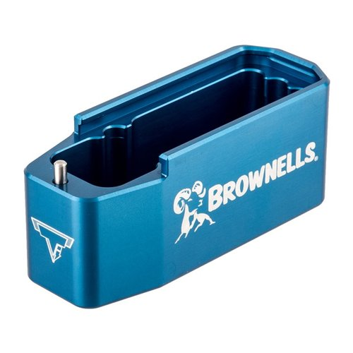 AR 308 Brownells 7.62 PMAG Magazine Extension Blue