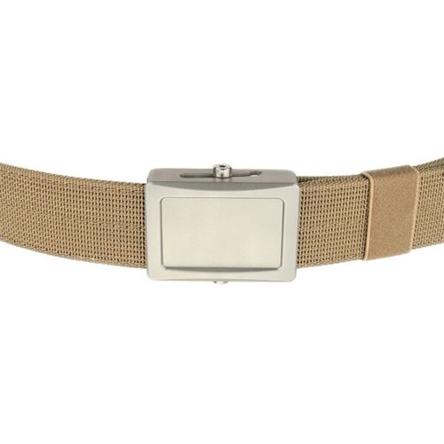 Aegis Belt Stainless Buckle Coyote Webbing Small