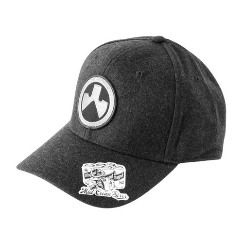 Icon Snapback Cap Charcoal