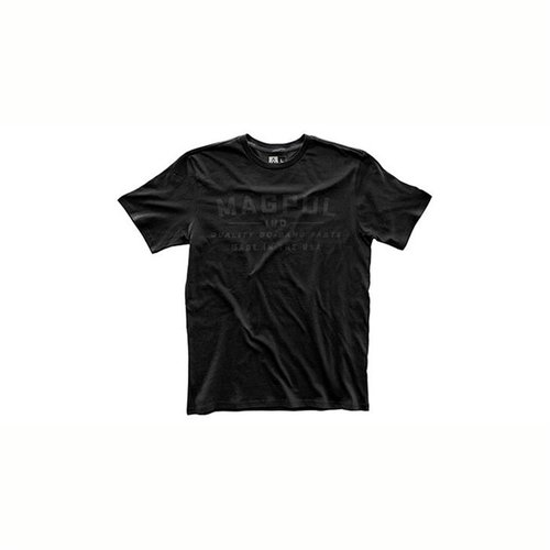 Fine Cotton Go Bang Parts T-Shirt Stealth Black Small