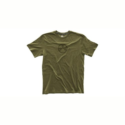Fine Cotton Icon Logo T-Shirt Olive 2X
