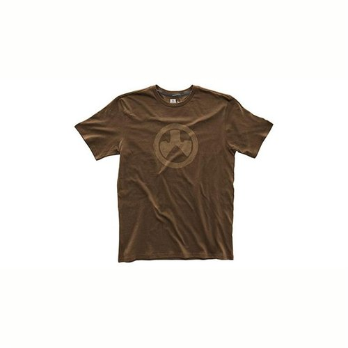 Fine Cotton Topo T-Shirt Dark Brown Small