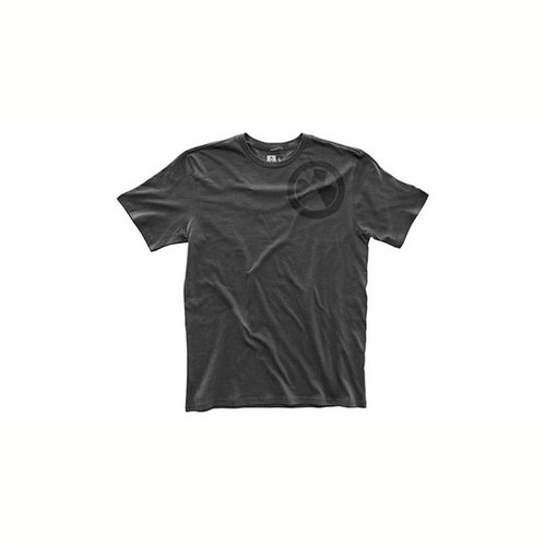 Fine Cotton Wet Logo T-Shirt New Charcoal Large