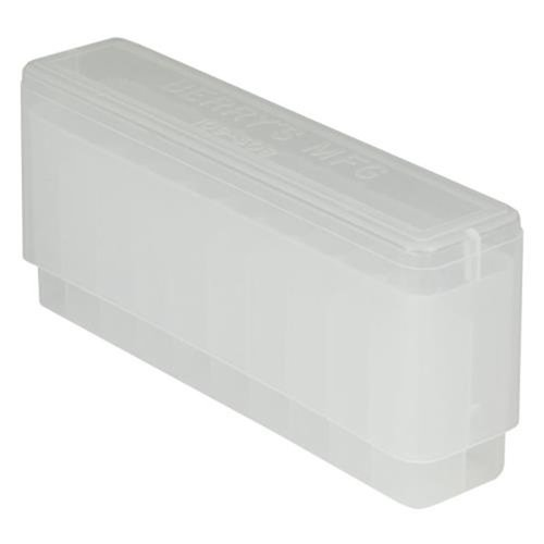 BERRYS MANUFACTURING RIFLE BOXES Clear 308 Family 20 Round