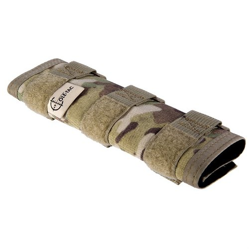 Metal Python Suppressor Cover Multicam 7.5""