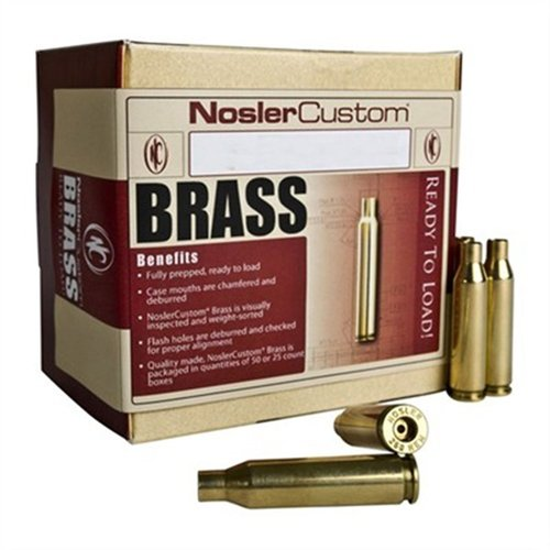 26 Nosler Brass 25/Box