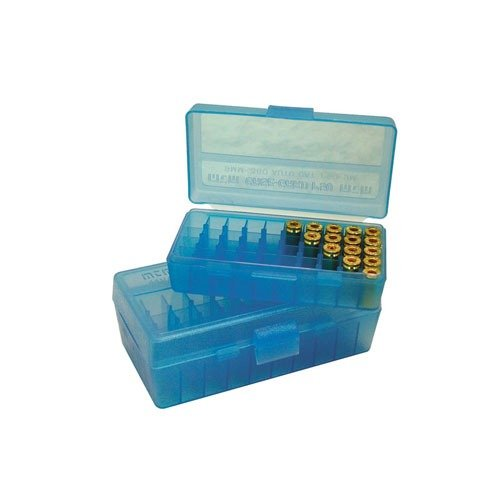 Ammo Box Pistol Blue 45ACP-40-10mm 50