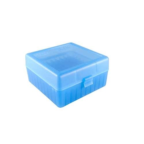 Ammo Boxes Rifle Blue 308 Winchester 100
