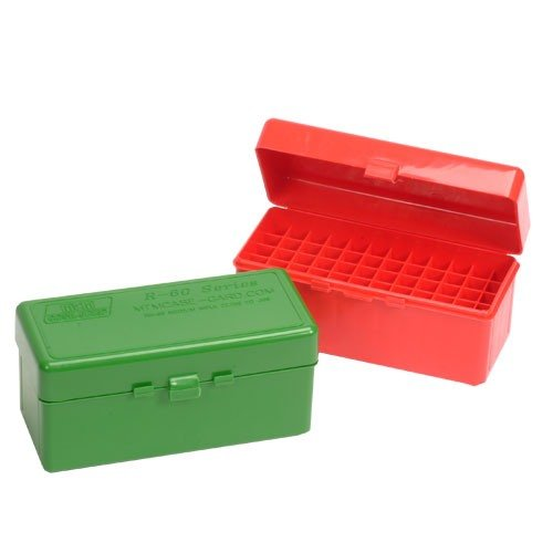 Ammo Boxes Rifle Green 22-250 Rem- 6.5/308 Winchester 60