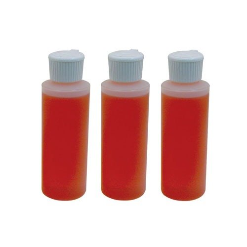 3 Pack Solvent Bottles 4 oz Barrier Type