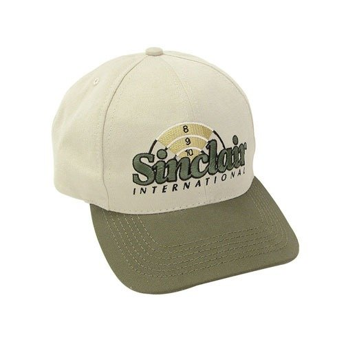 Khaki/Green Embroidered Cap