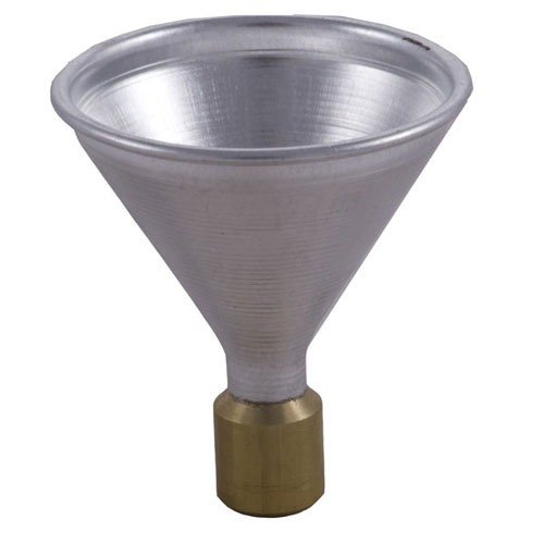 Aluminum Powder Funnel, .22 to .30 Caliber