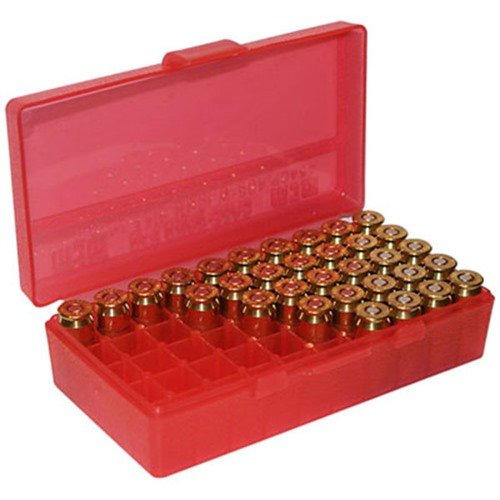 Ammo Boxes Pistol Red 44MAG 50
