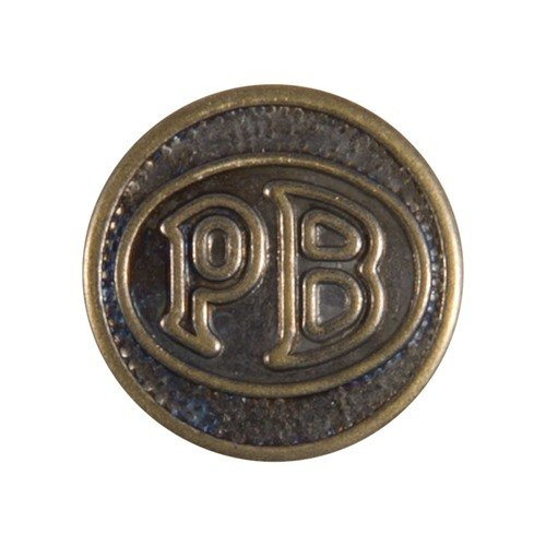 PB Logo Grip Medallion