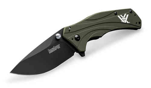 Knock-Out knife - ODG Knife, black blade Kershaw