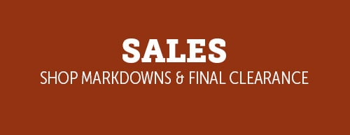 Sales - Shop Markdows & Final Clearance